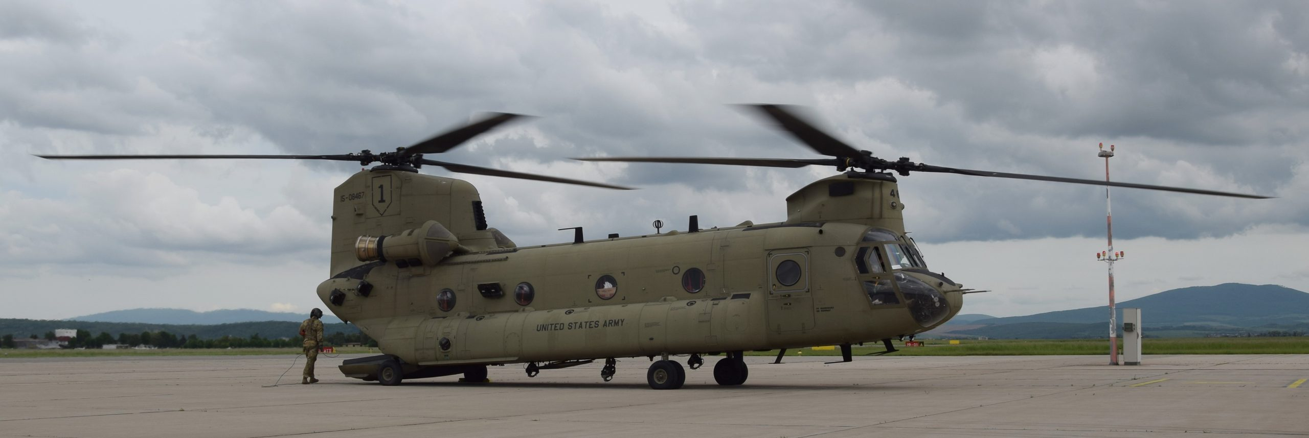 Boeing CH-47 Chinook United States ARMY