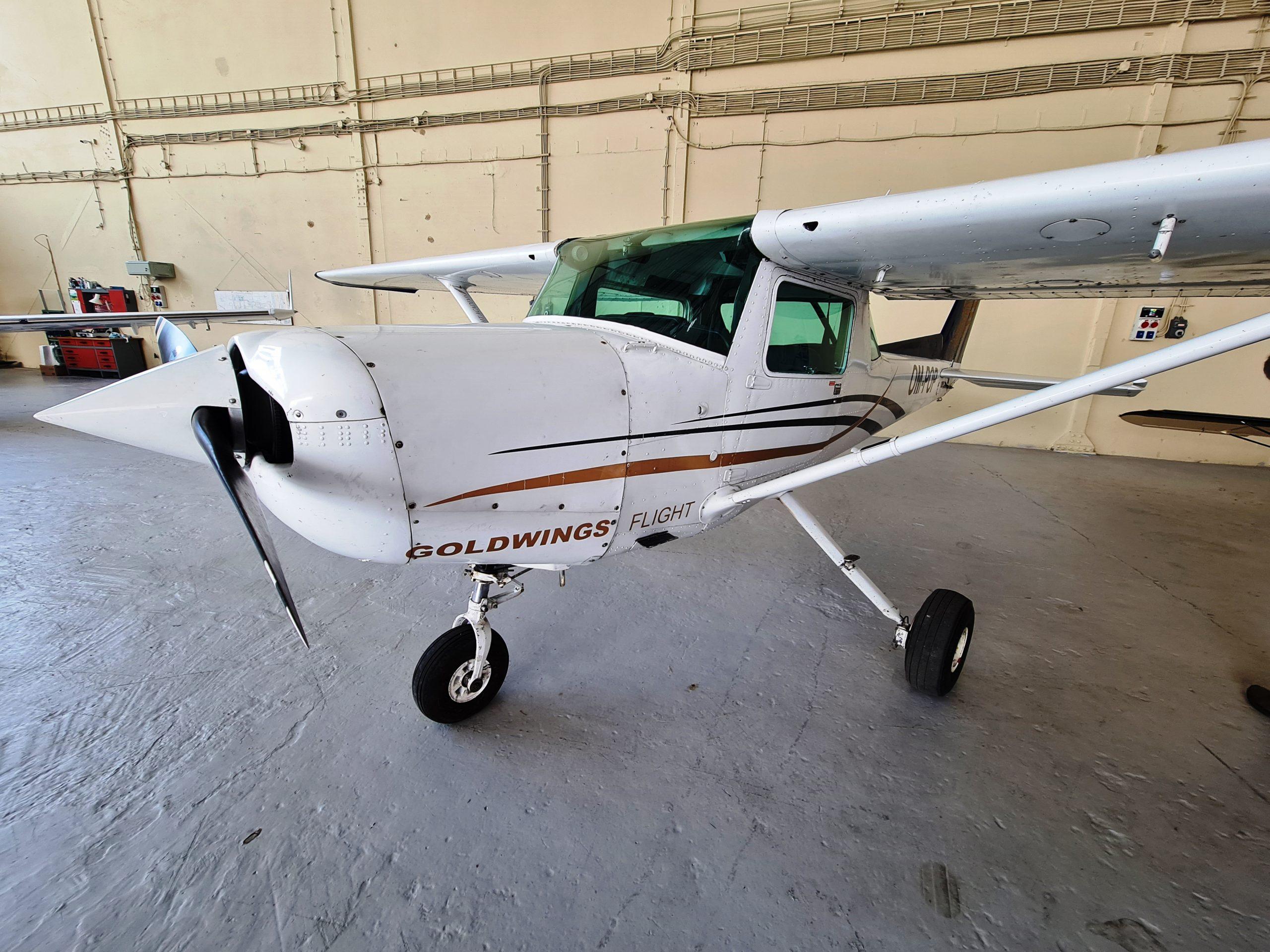 Cessna 152, OM-POP, JetAge