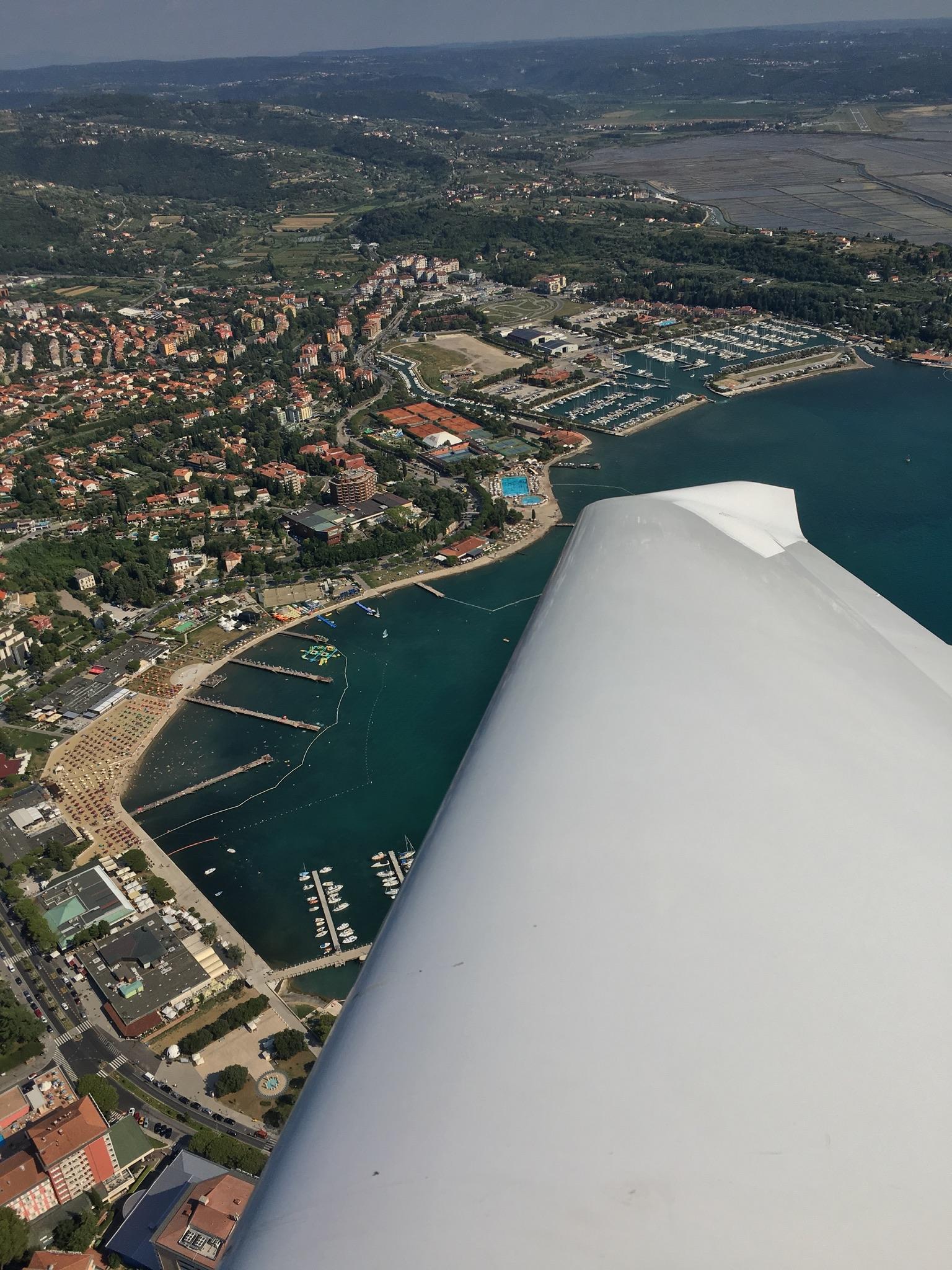 Portorož, fly from Slovakia