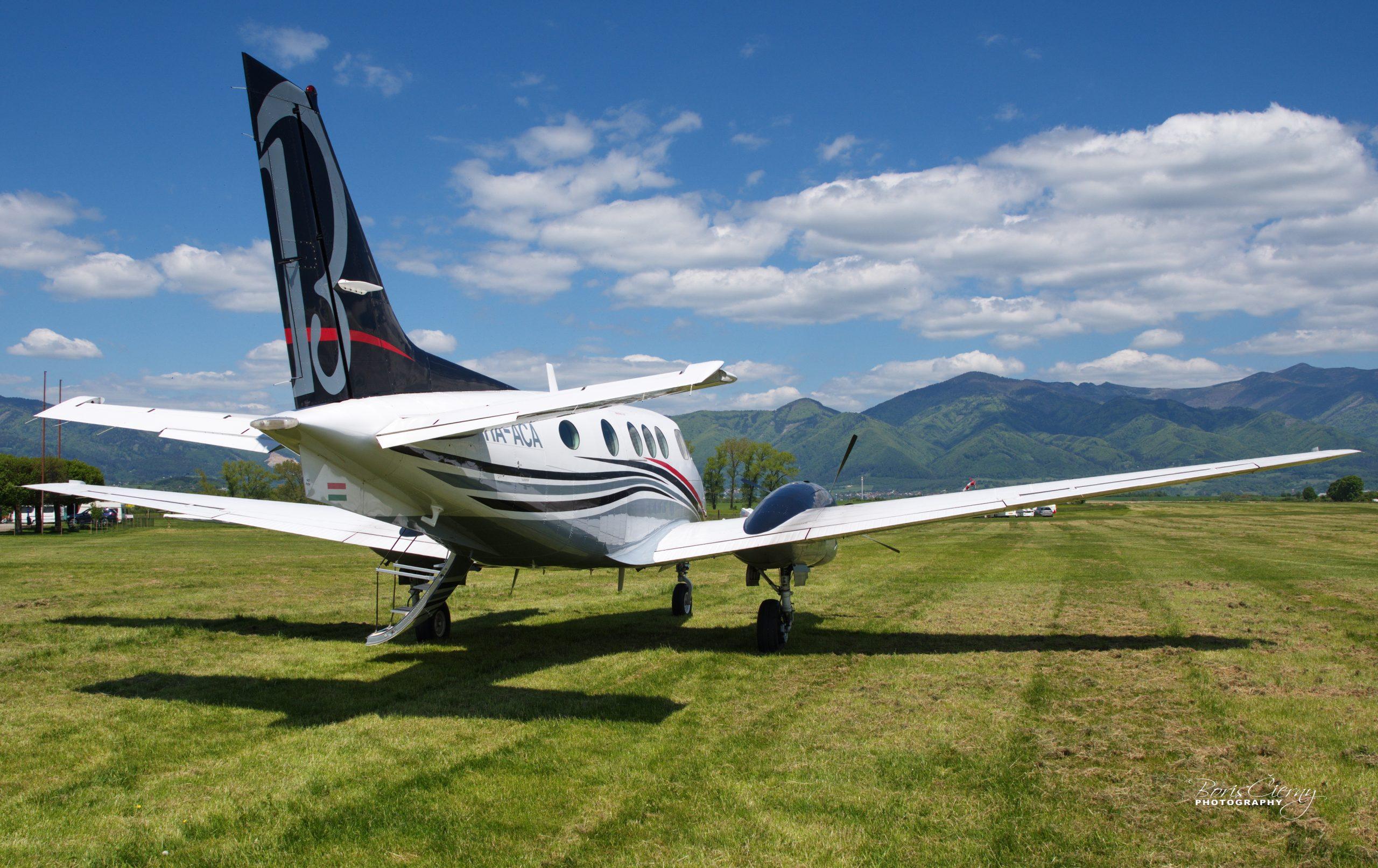 HA-ACA - Beechcraft C90B King Air