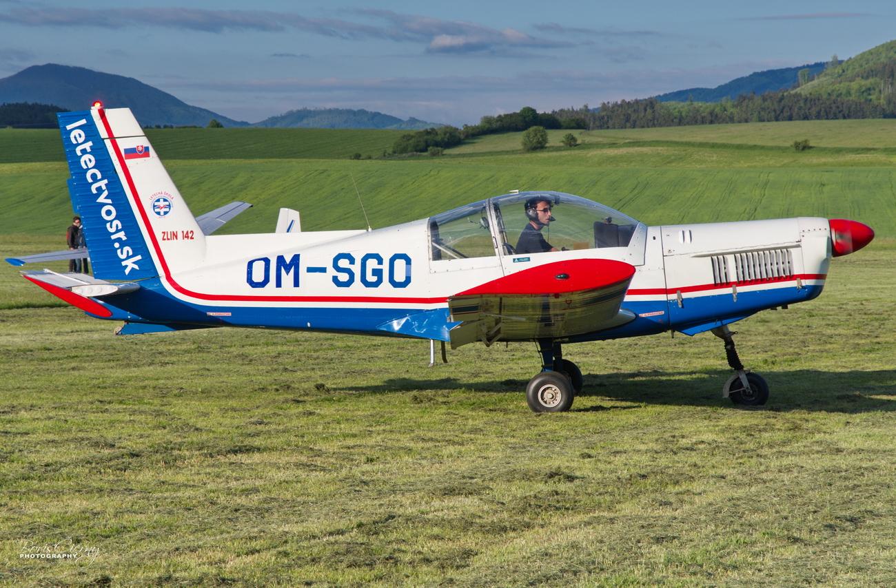 Zlin Z-142, OM-SGO, letectvosr.sk