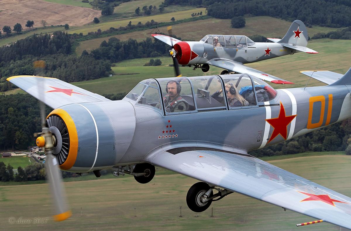 OMBRE - letecká škola, výcvik pilotov, vyhliadkové lety, OMBRE, Yak 52, Akrobacia